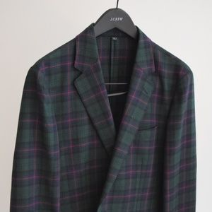 J.Crew Ludlow Unstructured Suit Jacket, NWT 40s